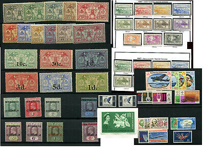NEW HEBRIDES FRANCE COLONIES + BRITISH COLONIAL ...PRICED PER CARD or AS GROUPS
