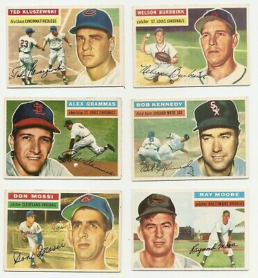 1956 Topps - You Pick - VG to EX - Conditions Listed