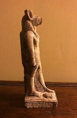 Egyptian Striding Anubis God Of The Dead With Scarab