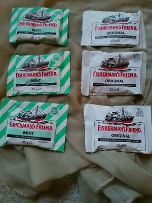 Fisherman's Friend 3 Original Menthol Eucalyptus 3 sugar free mint Lozenges 25g