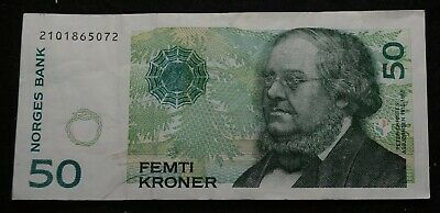 NORWAY 50 Kronor NOTE