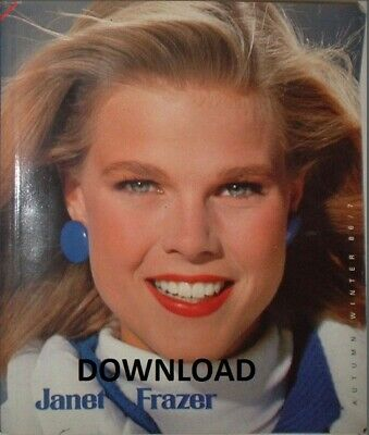 1986-1987 Janet Frazer Mail Order Catalogue, Autumn/Winter, Vintage,PDF DOWNLOAD