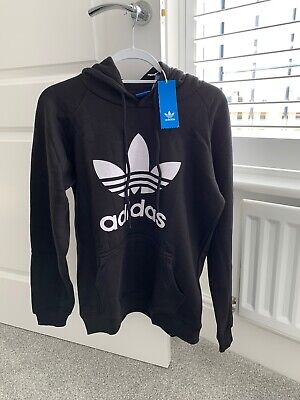MENS NEW ADIDAS Originals Serrated Trefoil casual Hoody