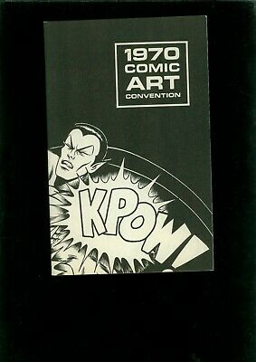 1970 Comic Art Convention and Progress Report
