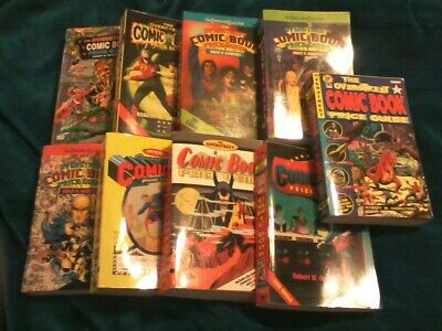 OVERSTREET SOFTCOVER PRICE GUIDES #24 through 32 One Collector Nice Shape