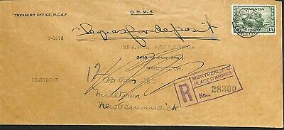 Quebec - Montreal - 1944 - Registered Cover - 13 Cents Tank Stamp