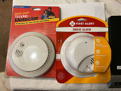 TWO NEW SMOKE Detectors. First Alert