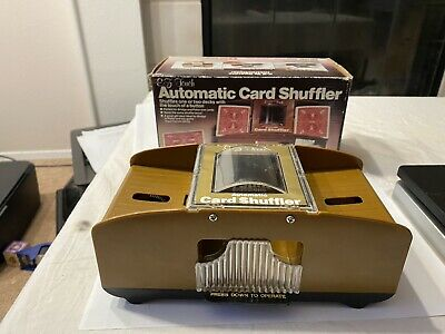 Vintage Bicycle Automatic Card Shuffler No. 116. Working. Batteries Included.