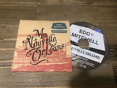 Eddy Mitchell - Ma Nouvelle Orleans - Cd Single Promo