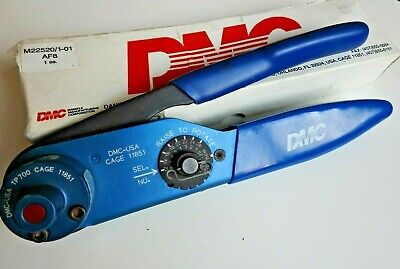 DMC AF8 M22520/1-01 Crimp Tool with Positioner