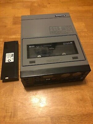 Panasonic AG-7400 Professional S-VHS Editing Video Cassette Recorder NO CHARGER