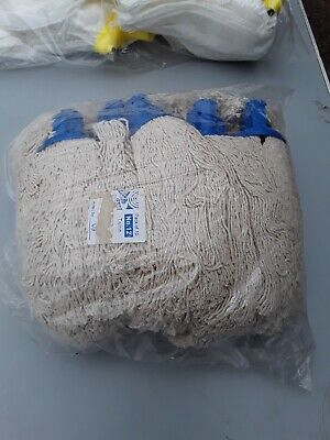 Socket Mop Heads blue x 10 new