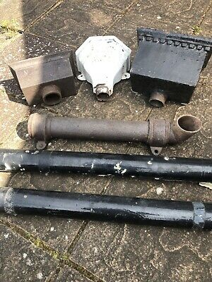 Architectural Cast Iron Hoppers And Down Pipe For Guttering