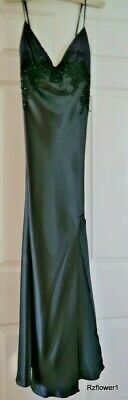 Marks and Spencer Per Una Ladies Black Silky Nightdress Size 14 BNWT RRP £29.50