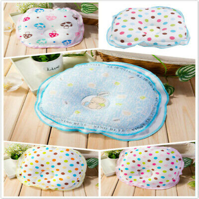 Newborn Baby Infant Anti Flat Head Cushion Crib Bed Neck Support Cot Pillow SK