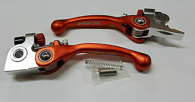 Flex Kupplungshebel Bremshebel Set Klappbar Orange KTM 125 150 250 350 450