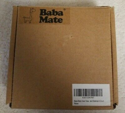 Baba Mate Clear View Stove & Oven Knob Covers 4 Count Open Box