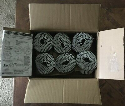"""Bostitch Siding Nails 2"""" 3600 Pack 12 Wire Collated Coils 15 Degree"""
