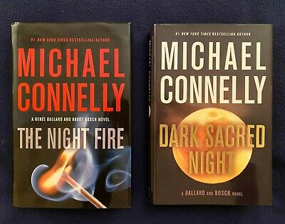 2 Lot Books by Michael Connelly: Renee Ballard and Harry Bosch Series - 1st Eds.