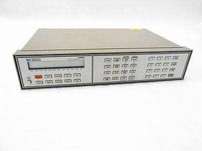 Hp 3488A Switch Control Unit With Hp-Ib ~ Agilent