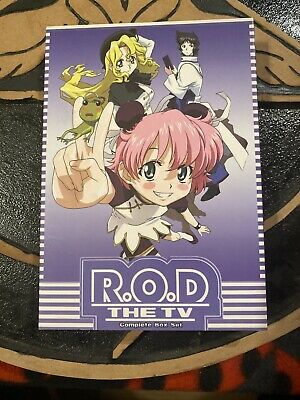R.O.D. The TV / Read or Die - Complete Series Collection 1-26 Japan Import.
