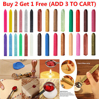Traditional Wax Sealing Stick for Letter Stamp Seal Melting Candle Envelope Wick