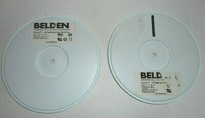2 Belden Diamond 50' Reels Acetal Strap Cable Ties