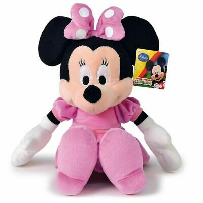 Minnie Peluche 45 Cm Rosa Classica Disney Minnie Mouse Originale Bimba Plush