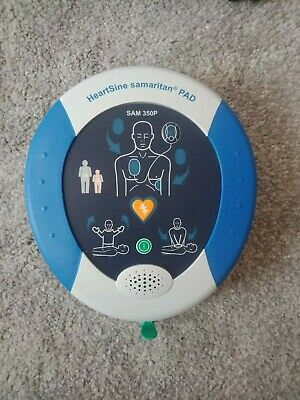 Heartsine Sam 350p Aed Defibrillator 2016 Model With Pad Pak And Case