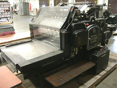 """Heidelberg SBGS 22x30-1/4"""" DIE CUTTER only Cylinder Press - Stock #CO027"""