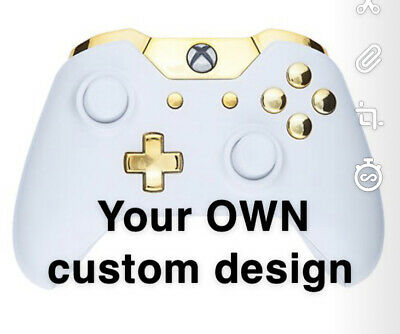 Custom Painted Official Wireless Xbox One Controller - Personalised Design