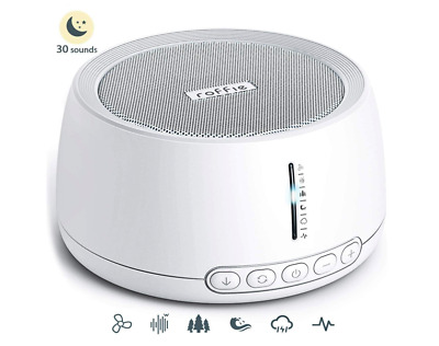White Noise Machine, Roffie Sleep Sound Machine, 30 Natural Sounds Therapy for