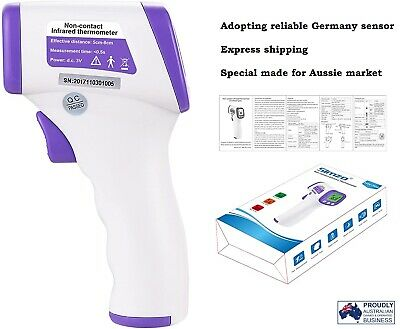 SIMZO Medical Infrared Digital Thermometer Non-Contact Forehead Baby Adult Fever