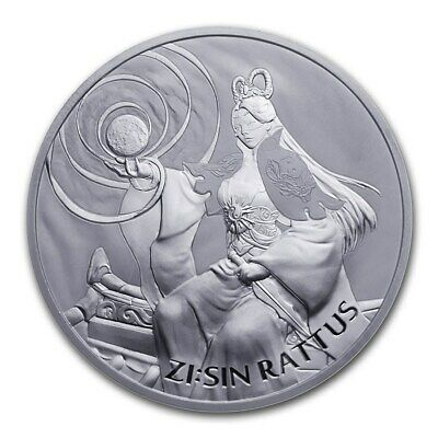 2020 South Korea ZI:SIN Series Rattus 1 oz Silver Very Limited AG-47 BU Coin