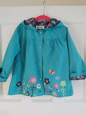 Girls spring summer Lightweight Coat Jacket Age 3-4