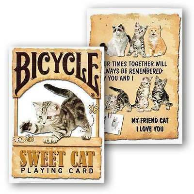 Mazzo di carte Bicycle - Sweet Cat Playing Cards - Carte da gioco