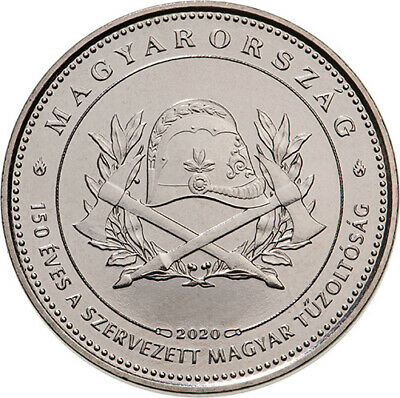 Hungary 50 forint 2020 UNC 150 th Hungarian Firefighter Association