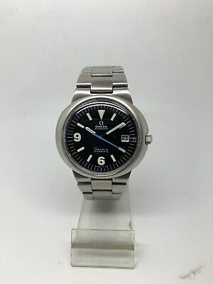 Vintage Omega Geneve Dynamic Automatic Watch For Men Stainless Steel