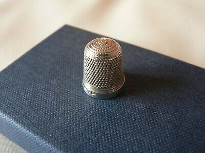 Beautiful Vintage Solid Silver Thimble