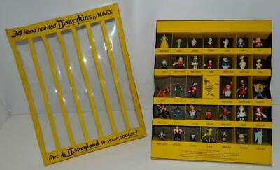 "MARX 1960's DISNEYKINS""YELLOW VERSION""GIFT BOX SET-COMPLETE ""MINT"" 34 PIECE SET!"