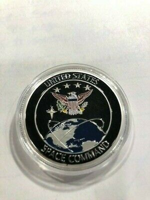 RARE Unique USA U.S. Space Force / Command Air Force +Trump 2020 Coin