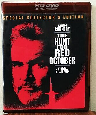 The Hunt For Red October (Special Collector's Edition) HD DVD Very Rare!