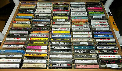 Music Cassette Tapes Lot (YOU PICK) Rock Pop R&B Country Metal FREE SHIPPING!