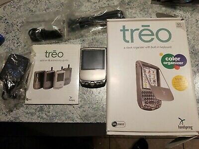 Handspring TREO 90 PDA With Software and Accessories
