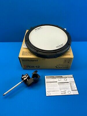 Roland V-Drums Dual Trigger Mesh V-Pad PDX-12 For TD-17KV Drum Set