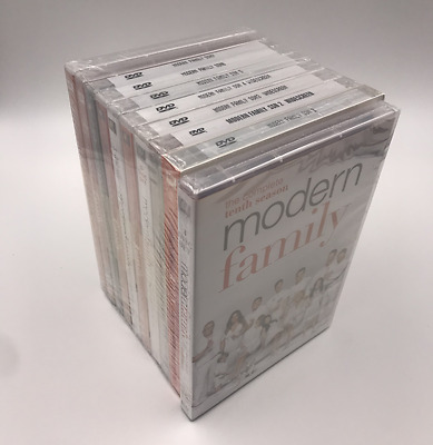 Modern Family Season : Complete Sesons 1-10 (DVD, 31-Disc Set) New & Sealed