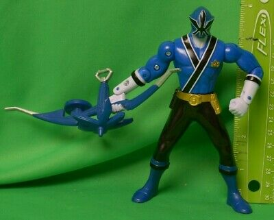 Mighty Morphin Power Rangers Super Samurai Action Figure Blue Ranger Bandai 2012