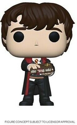 Nevile W/ Monster Book - Funko Pop! Harry Potter: (2020, Toy NUEVO)
