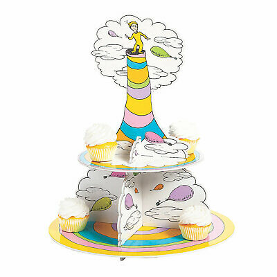 Dr. Seuss Oh The Places You'Ll Go Cupcake Stand - Party Supplies - 1 Piece