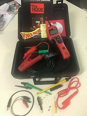 NEW!! Power Probe PPH1 The Hook Ultimate Circuit Tester. plus piercing probe set